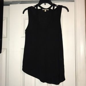 Express One Eleven black tank top.